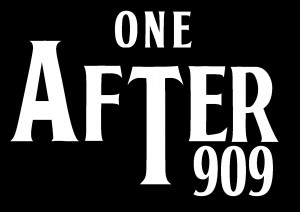oneafter909 logo White